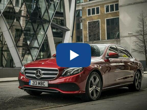 Video Review: MERCEDES-BENZ E CLASS SALOON E 200 AMG Line 4dr 9G-Tronic