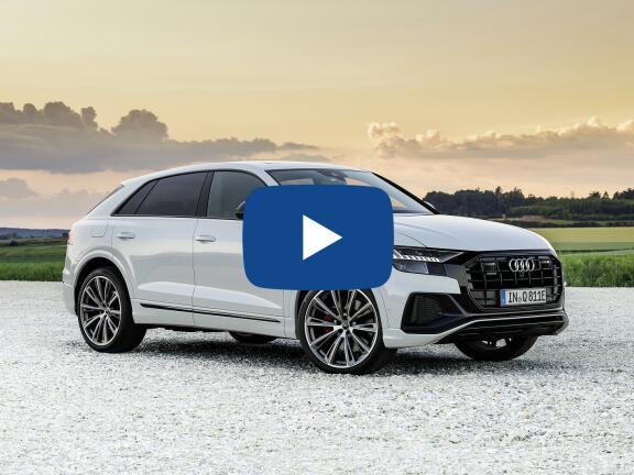 Video Review: AUDI Q8 DIESEL ESTATE 50 TDI Quattro S Line 5dr Tiptron [Comfort+Sound]