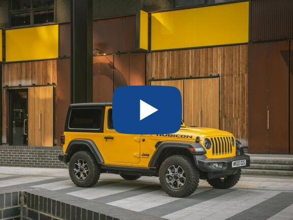 Video Review: JEEP WRANGLER HARD TOP DIESEL 2.2 Multijet Overland 4dr Auto8