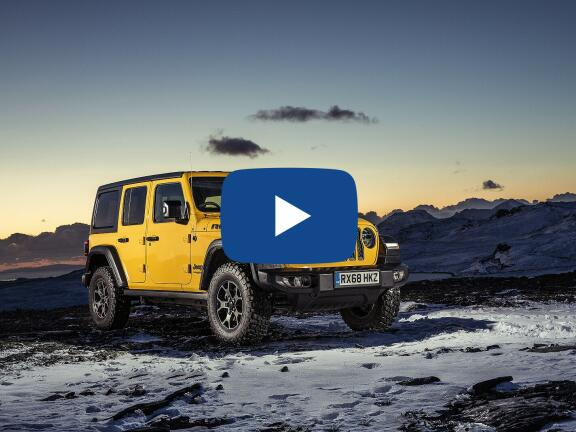 Video Review: JEEP WRANGLER HARD TOP 2.0 GME Rubicon 2dr Auto8