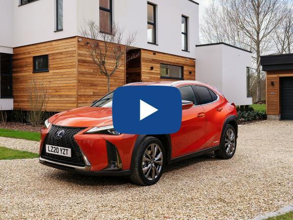 Video Review: LEXUS UX HATCHBACK 250h E4 2.0 F-Sport 5dr CVT [Premium Plus/Sunroof]