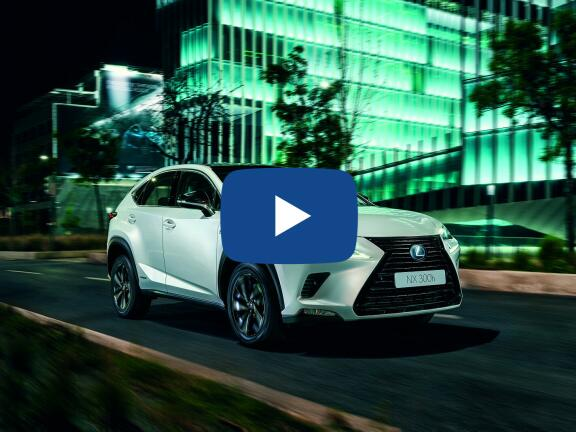 Video Review: LEXUS NX ESTATE 300h 2.5 F-Sport 5dr CVT [Takumi Pack/Sunroof]