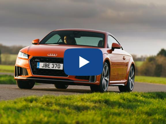 Video Review: AUDI TT COUPE 45 TFSI Quattro Black Edition 2dr S Tronic [Tech]