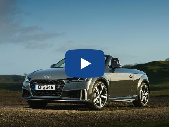 Video Review: AUDI TT ROADSTER 45 TFSI Black Edition 2dr S Tronic [Tech Pack]
