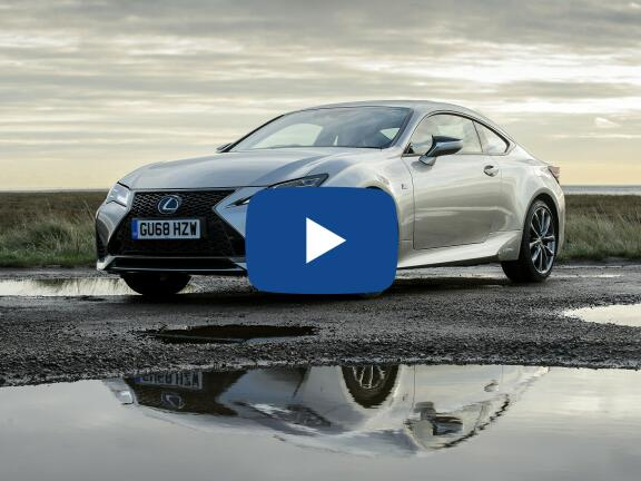 Video Review: LEXUS RC COUPE 300h 2.5 F-Sport 2dr CVT [Sunroof]