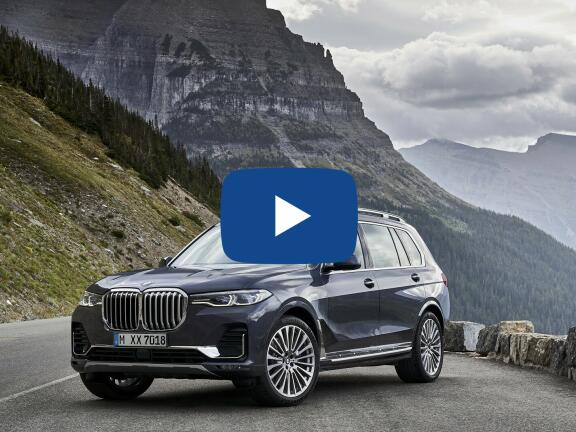 Video Review: BMW X7 ESTATE xDrive40i 5dr Step Auto