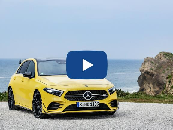 Video Review: MERCEDES-BENZ A CLASS AMG HATCHBACK A35 4Matic 5dr Auto