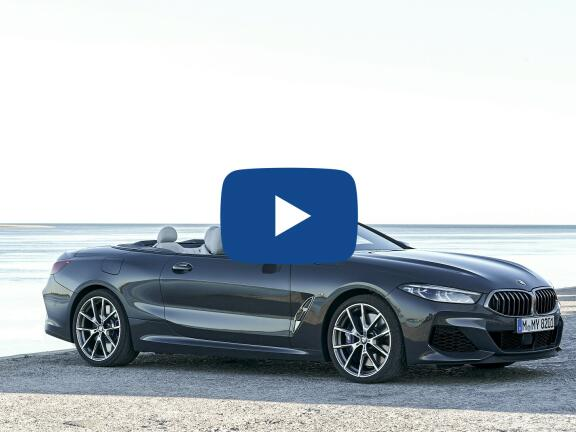Video Review: BMW 8 SERIES CONVERTIBLE M850i xDrive 2dr Auto