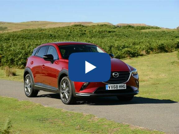 Video Review: MAZDA CX-3 HATCHBACK 2.0 150 Sport Nav + 5dr Auto AWD [Safety+Lthr Pk]