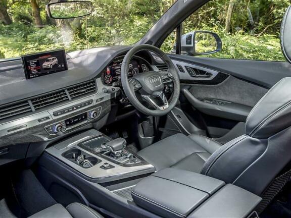 AUDI Q7 DIESEL ESTATE 50 TDI Quattro Black Edition 5dr Tiptronic[C+S Pk]