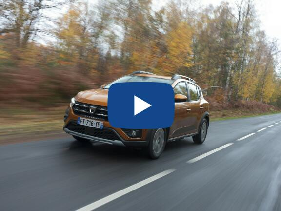 Video Review: DACIA SANDERO STEPWAY HATCHBACK SPECIAL EDITION 1.5 Blue dCi Techroad 5dr