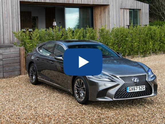 Video Review: LEXUS LS SALOON 500h 3.5 [359] Takumi 4dr CVT Auto [Pleat pack]