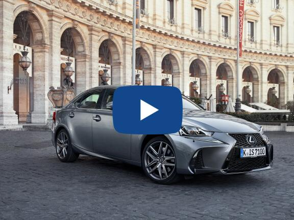 Video Review: LEXUS IS SALOON 300h 4dr CVT Auto [Sport Pack/Sunroof]