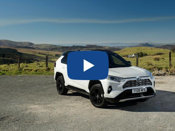Video Review: TOYOTA RAV4 ESTATE 2.5 VVT-i Hybrid Dynamic 5dr CVT [Pan Roof] 2WD