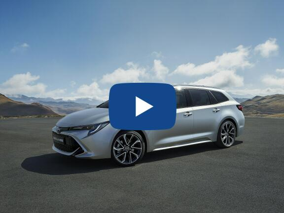 Video Review: TOYOTA COROLLA TOURING SPORT 2.0 VVT-i Hybrid Design 5dr CVT [Panoramic Roof]