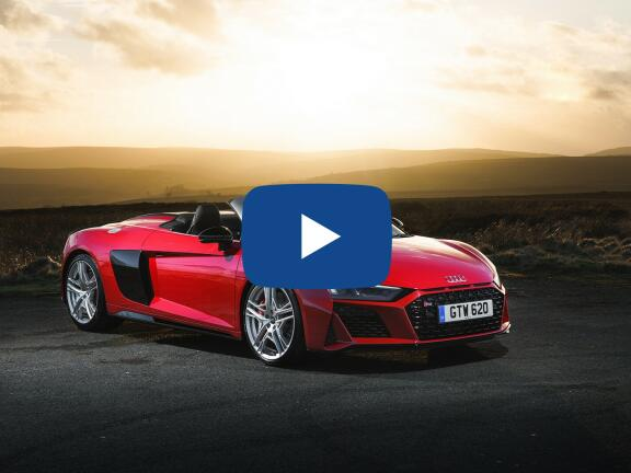 Video Review: AUDI R8 SPYDER 5.2 FSI V10 Quattro Performance 2dr S Tronic
