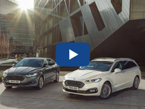 Video Review: FORD MONDEO VIGNALE SALOON 2.0 Hybrid 4dr Auto