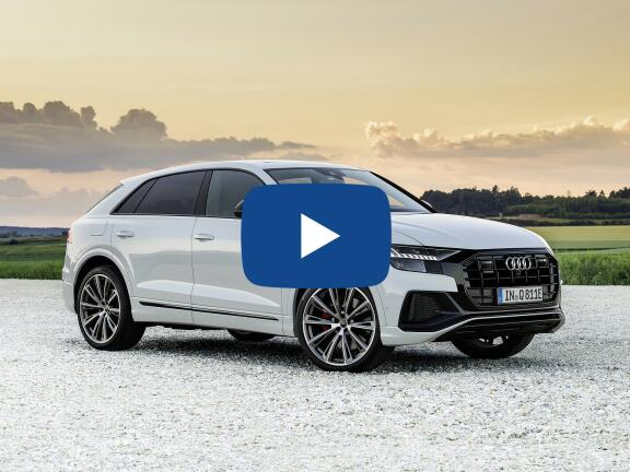 Video Review: AUDI Q8 ESTATE 55 TFSI Quattro S Line 5dr Tiptronic