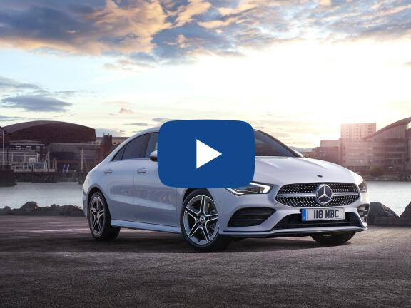 Video Review: MERCEDES-BENZ CLA COUPE CLA 180 AMG Line 4dr Tip Auto
