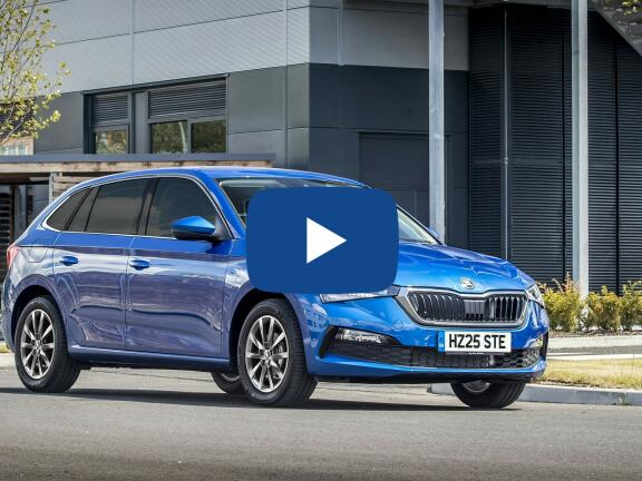 Video Review: SKODA SCALA DIESEL HATCHBACK 1.6 TDI SE 5dr DSG