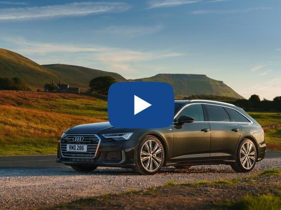 Video Review: AUDI A6 DIESEL AVANT 50 TDI Quattro Black Edition 5dr Tip Auto [Tech]