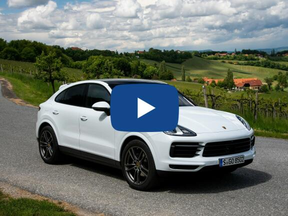 Video Review: PORSCHE CAYENNE COUPE Turbo 5dr Tiptronic S
