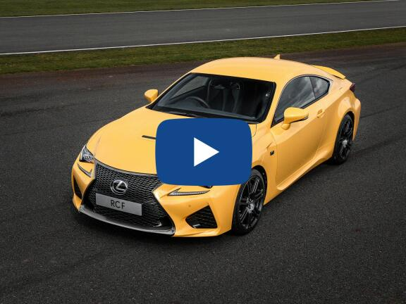 Video Review: LEXUS RC F COUPE 5.0 2dr Auto [Track Pack/Sunroof]