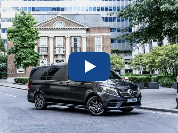 Video Review: MERCEDES-BENZ V CLASS DIESEL ESTATE V220 d AMG Line 5dr 9G-Tronic [Long]