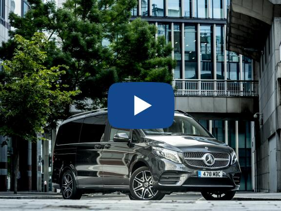 Video Review: MERCEDES-BENZ V CLASS DIESEL ESTATE V300 d Marco Polo AMG Line 4dr 9G-Tronic [Long]