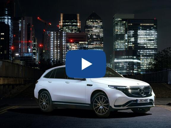 Video Review: MERCEDES-BENZ EQC ESTATE EQC 400 300kW AMG Line Premium 80kWh 5dr Auto