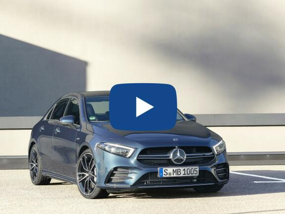 Video Review: MERCEDES-BENZ A CLASS AMG SALOON A35 4Matic Executive 4dr Auto