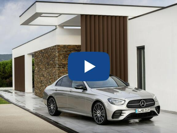 Video Review: MERCEDES-BENZ E CLASS DIESEL ESTATE E220d AMG Line Night Edition Prem + 5dr 9G-Tronic