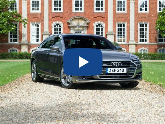 Video Review: AUDI A8 DIESEL SALOON L 50 TDI Quattro Black Edition 4dr Tiptronic