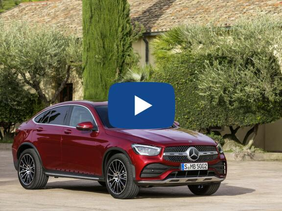 Video Review: MERCEDES-BENZ GLC DIESEL COUPE GLC 300d 4Matic AMG Line Ultimate 5dr 9GTron