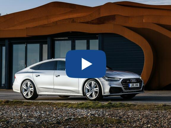 Video Review: AUDI A7 DIESEL SPORTBACK 50 TDI Quattro Black Edition 5dr Tip [C+S]
