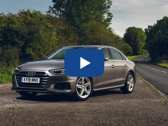 Video Review: AUDI A4 SALOON 35 TFSI Black Edition 4dr [Comfort+Sound]
