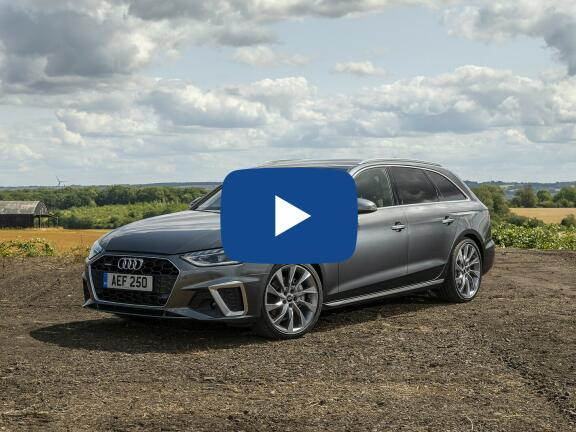 Video Review: AUDI A4 AVANT 40 TFSI Black Edition 5dr S Tronic [Comfort+Sound]