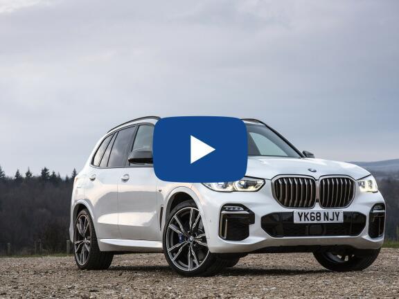 Video Review: BMW X5 ESTATE xDrive M50i 5dr Auto