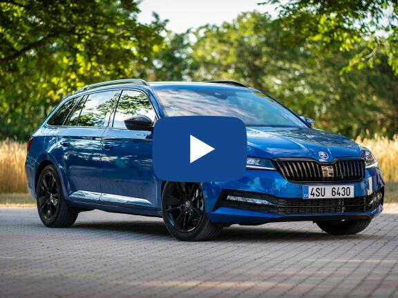 Video Review: SKODA SUPERB DIESEL ESTATE 2.0 TDI CR Sport Line Plus 5dr DSG