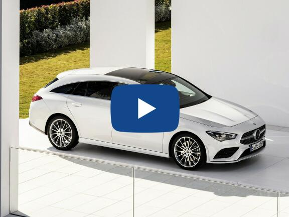 Video Review: MERCEDES-BENZ CLA SHOOTING BRAKE CLA 180 AMG Line 5dr Tip Auto