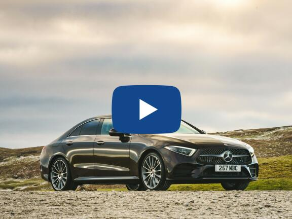 Video Review: MERCEDES-BENZ CLS DIESEL COUPE CLS 300d AMG Line 4dr 9G-Tronic
