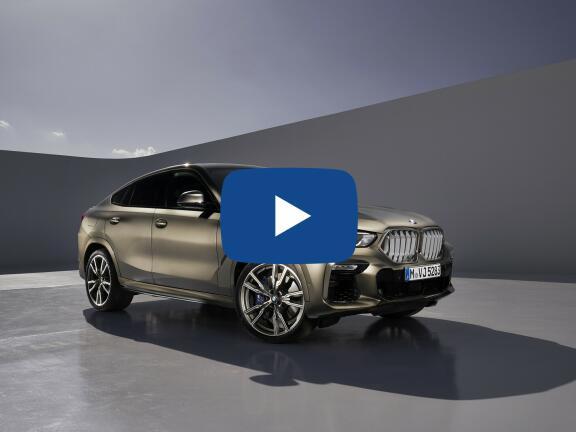 Video Review: BMW X6 ESTATE xDrive M50i 5dr Auto