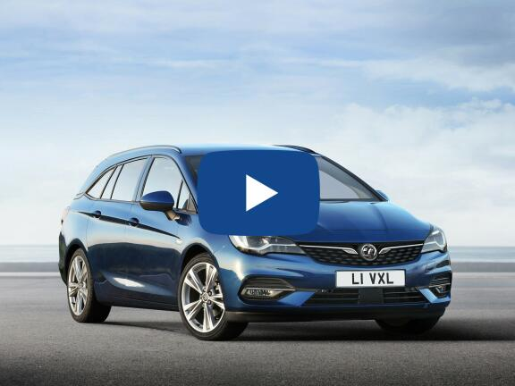Video Review: VAUXHALL ASTRA DIESEL SPORTS TOURER 1.5 Turbo D 105 SE 5dr