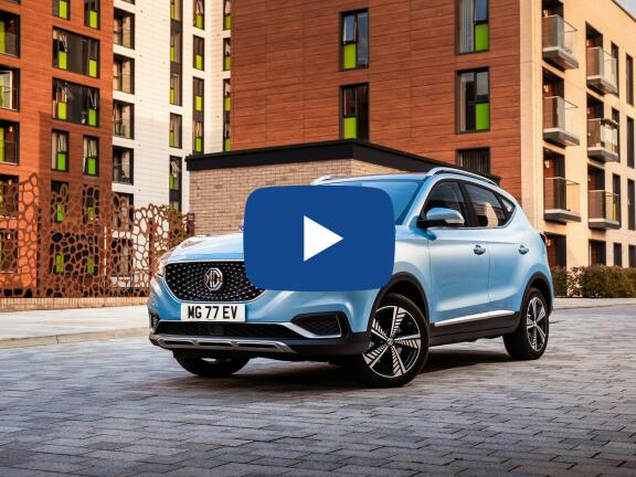 Video Review: MG MOTOR UK ZS ELECTRIC HATCHBACK 105kW Exclusive EV 45kWh 5dr Auto