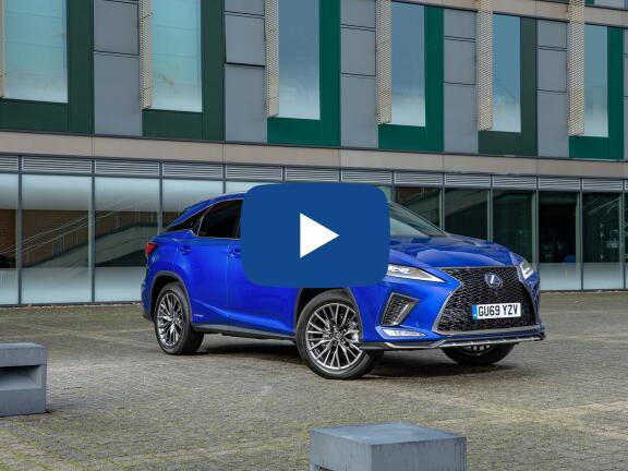 Video Review: LEXUS RX ESTATE 450h 3.5 F-Sport 5dr CVT [Takumi pack]
