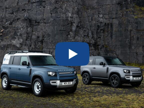 Video Review: LAND ROVER DEFENDER ESTATE 2.0 P300 S 110 5dr Auto [6 Seat]