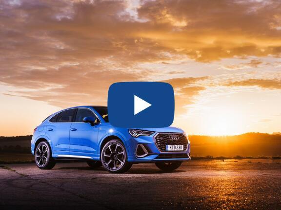 Video Review: AUDI Q3 DIESEL SPORTBACK 35 TDI Sport 5dr S Tronic [Comfort+Sound Pack]