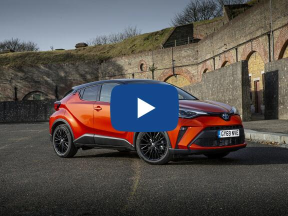 Video Review: TOYOTA C-HR HATCHBACK 2.0 Hybrid Excel 5dr CVT