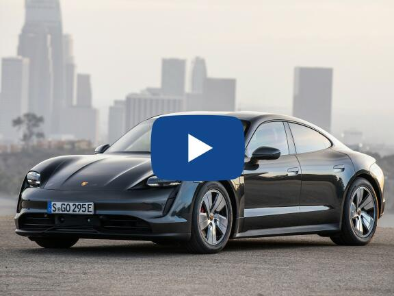 Video Review: PORSCHE TAYCAN SALOON 500kW Turbo 93kWh 4dr Auto