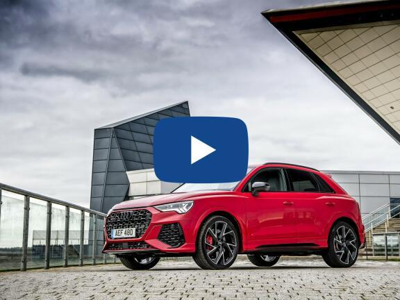 Video Review: AUDI RS Q3 SPORTBACK RS Q3 TFSI Quattro 5dr S Tronic